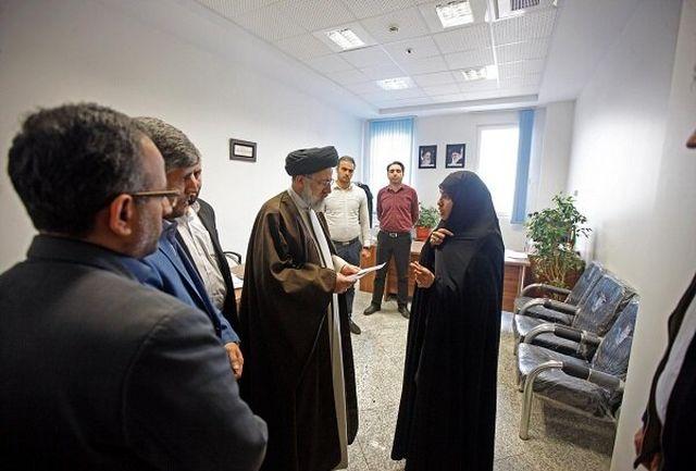 بازدید سرزده رییس قوه قضاییه از دادسرای ناحیه ۱۰ تهران