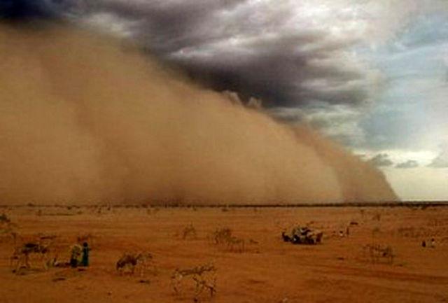 طوفان شن در کرمان