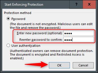 چگونه بخشی از یک فایل ورد را از ویرایش شدن محافظت کنیم؟ - 29