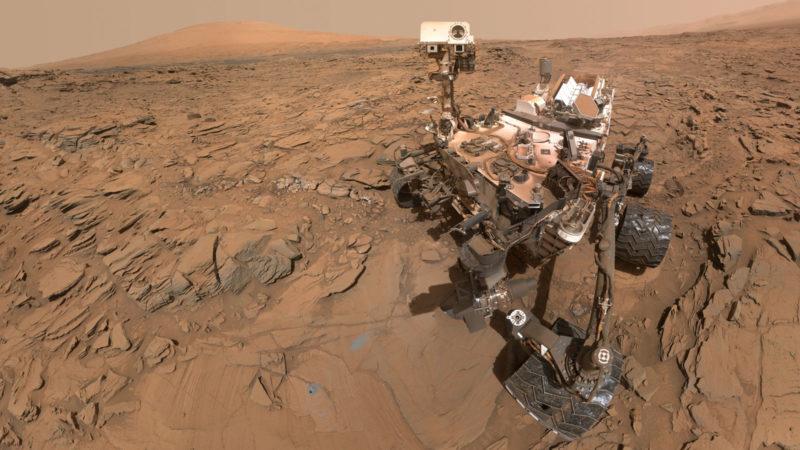 پس از دست دادن کاوشگر فرصت، مریخ نورد کنجکاوی هم دچار مشکل شد