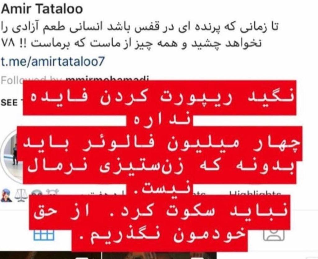 گزارشات مردمی در اینستاگرام باعث مسدود سازی صفحه «امیر تتلو» شد - 6