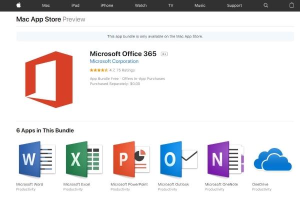 مایکروسافت آفیس برای اپ استور مک منتشر شد - 5
