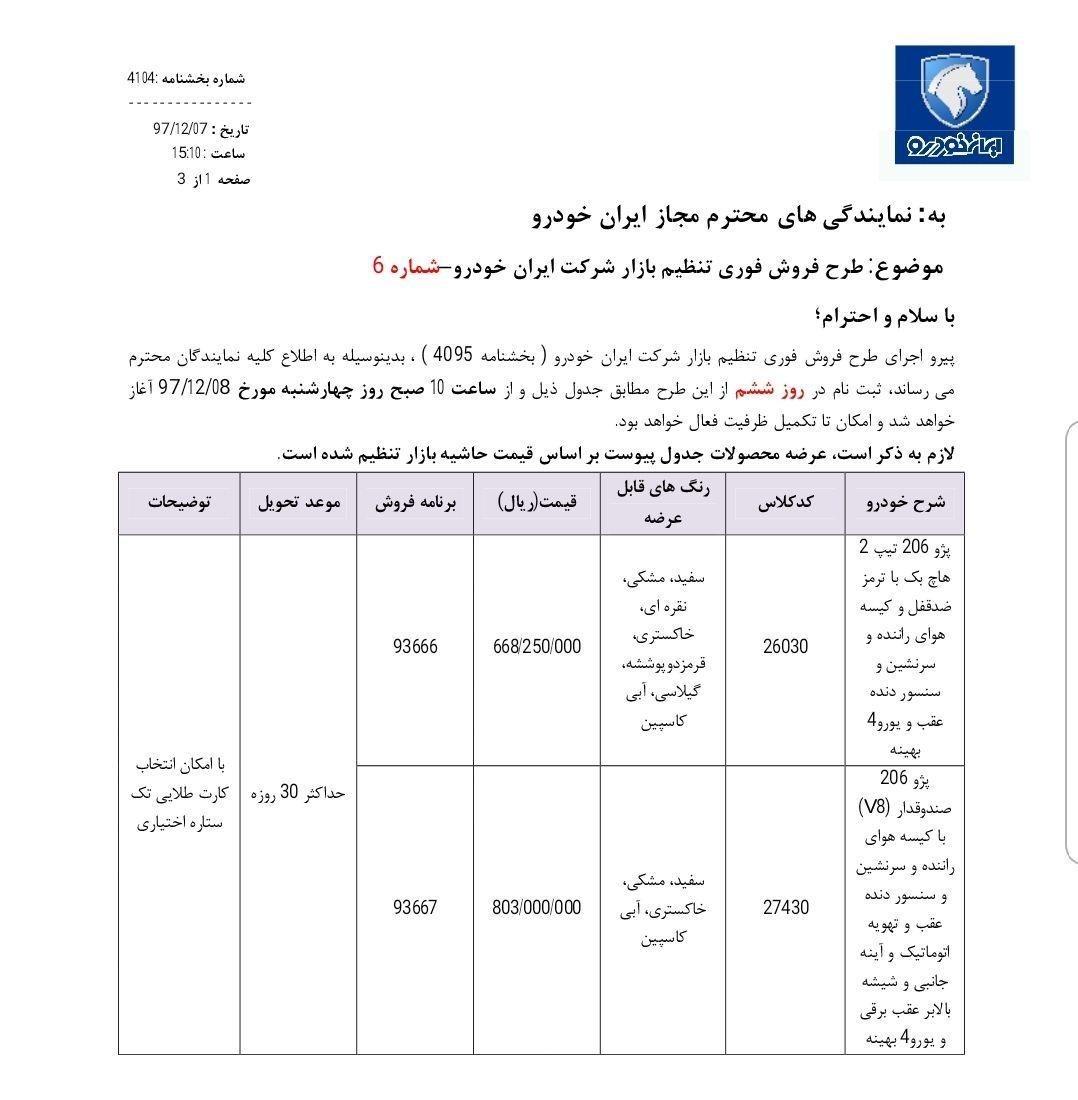 کاهش قیمت پژو ۴۰۵ در شرایط فروش فوری ایران خودرو - اسفند ۹۷ [به روز رسانی نهم] - 28