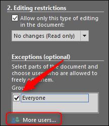 چگونه بخشی از یک فایل ورد را از ویرایش شدن محافظت کنیم؟ - 23
