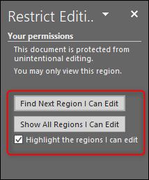 چگونه بخشی از یک فایل ورد را از ویرایش شدن محافظت کنیم؟ - 36