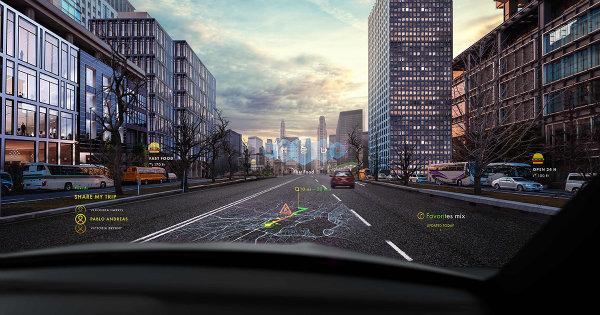 ایده جذاب هیوندای برای توسعه یک مسیریاب پیشرفته براساس واقعیت افزوده - 16