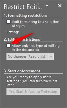 چگونه بخشی از یک فایل ورد را از ویرایش شدن محافظت کنیم؟ - 11