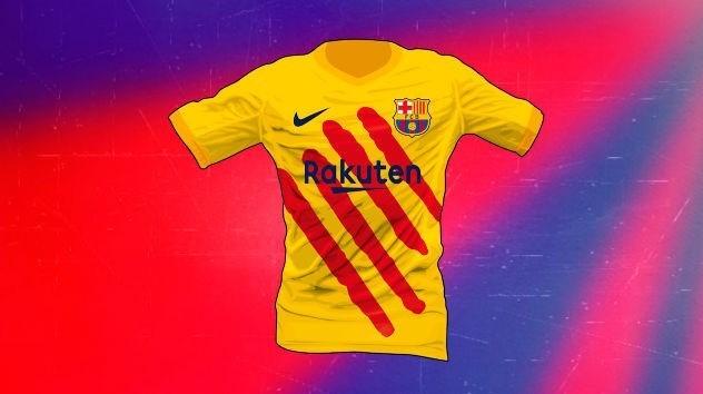پیراهن عجیب بارسلونا برای فصل آینده + عکس - 6