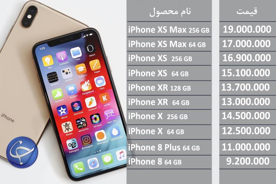 آخرین قیمت تلفن همراه در بازار ایران+جدول - 11