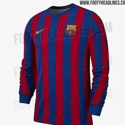پیراهن عجیب بارسلونا برای فصل آینده + عکس - 8