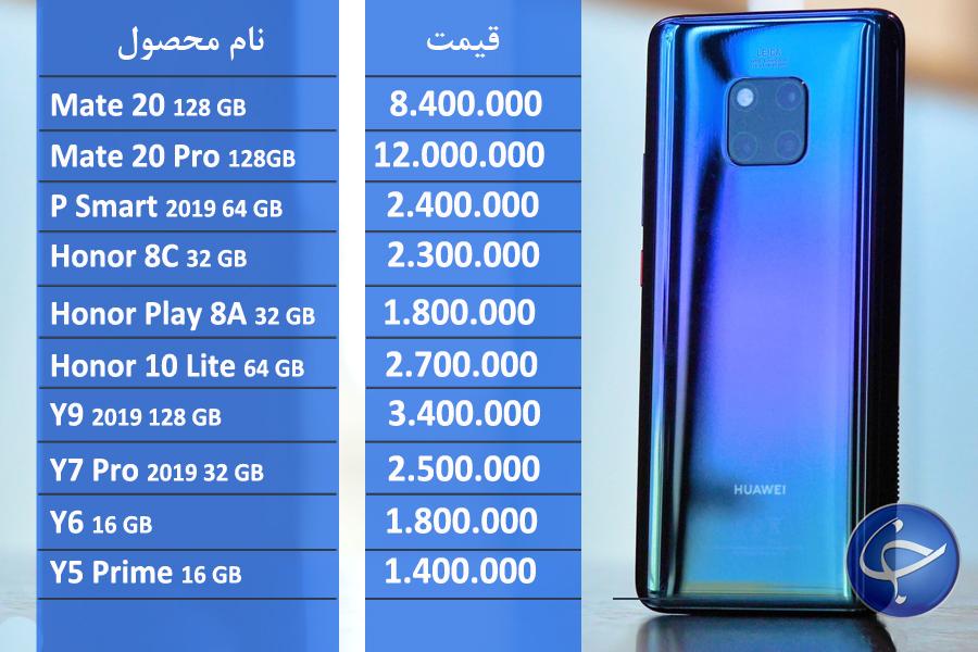 آخرین قیمت تلفن همراه در بازار ایران+جدول - 7