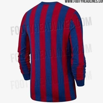 پیراهن عجیب بارسلونا برای فصل آینده + عکس - 9