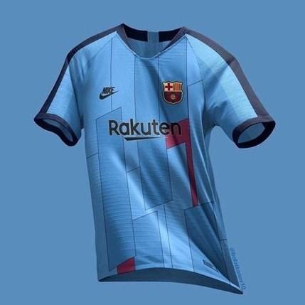 پیراهن عجیب بارسلونا برای فصل آینده + عکس - 10
