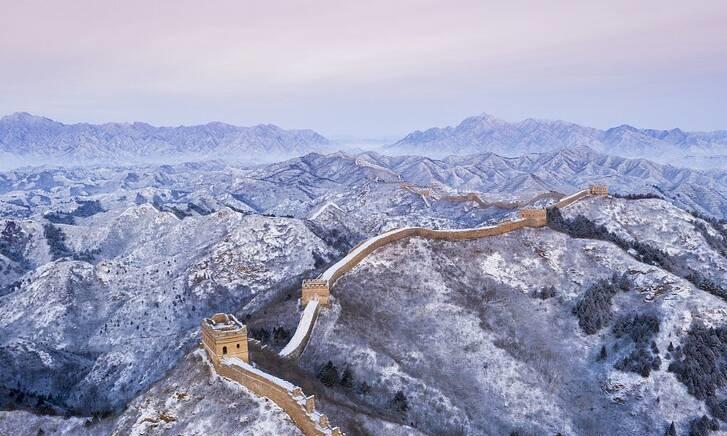 نمای برفی زیبا دیوار چین +تصاویر - 4