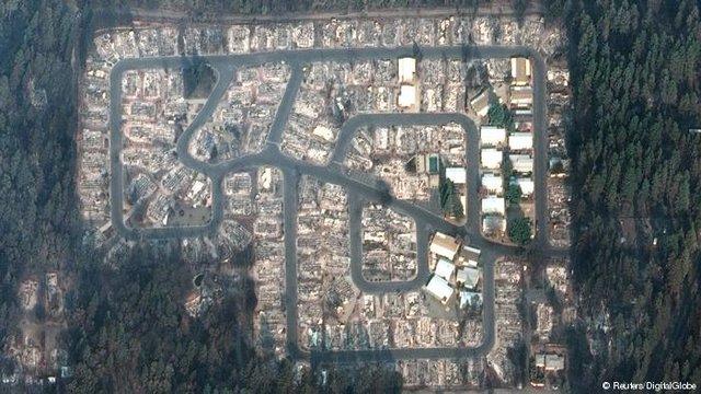 مخربترین آتشسوزی در تاریخ کالیفرنیا +عکس - 9