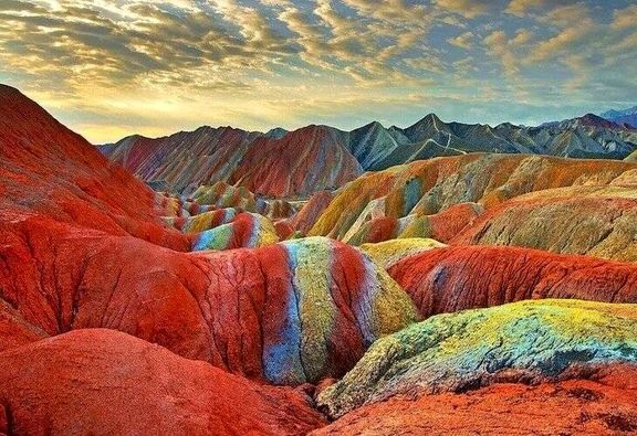 معجزه زیبای طبیعت در کوههای زنجان +تصاویر
