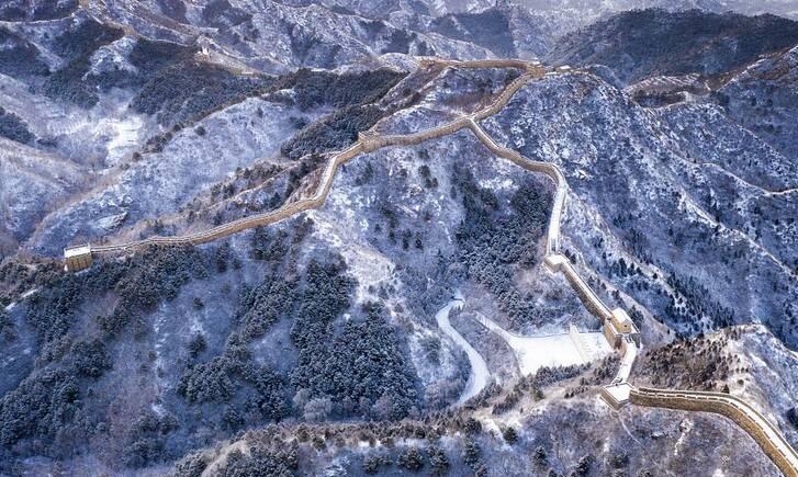 نمای برفی زیبا دیوار چین +تصاویر - 9