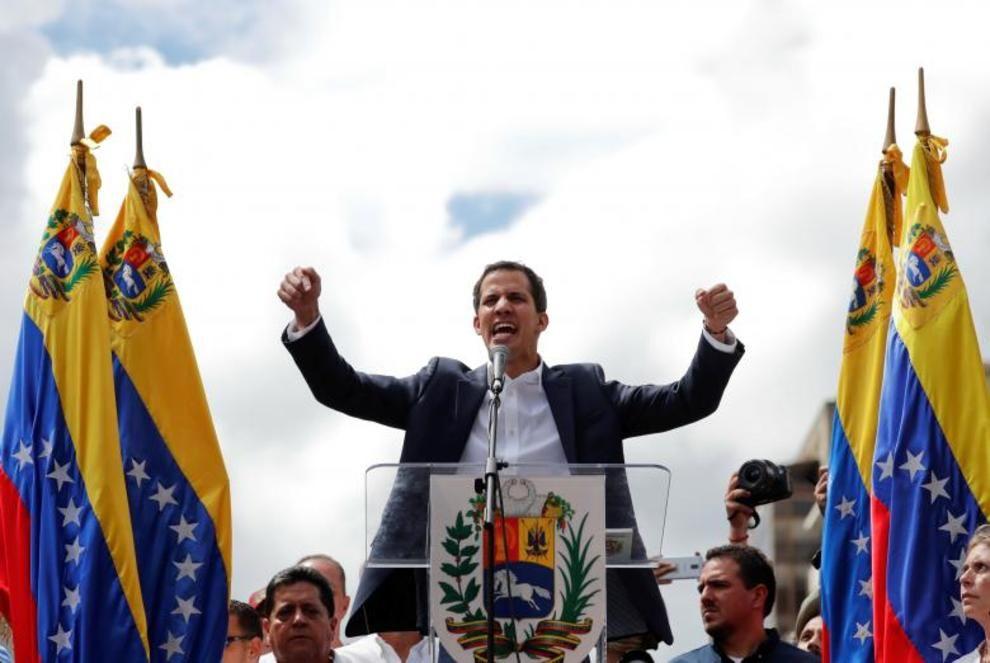 تصاویر لحظه به لحظه قیام مردم ونزوئلا - 19