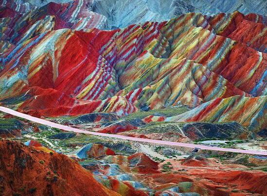 معجزه زیبای طبیعت در کوههای زنجان +تصاویر - 0