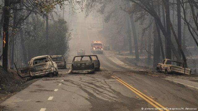 مخربترین آتشسوزی در تاریخ کالیفرنیا +عکس - 14