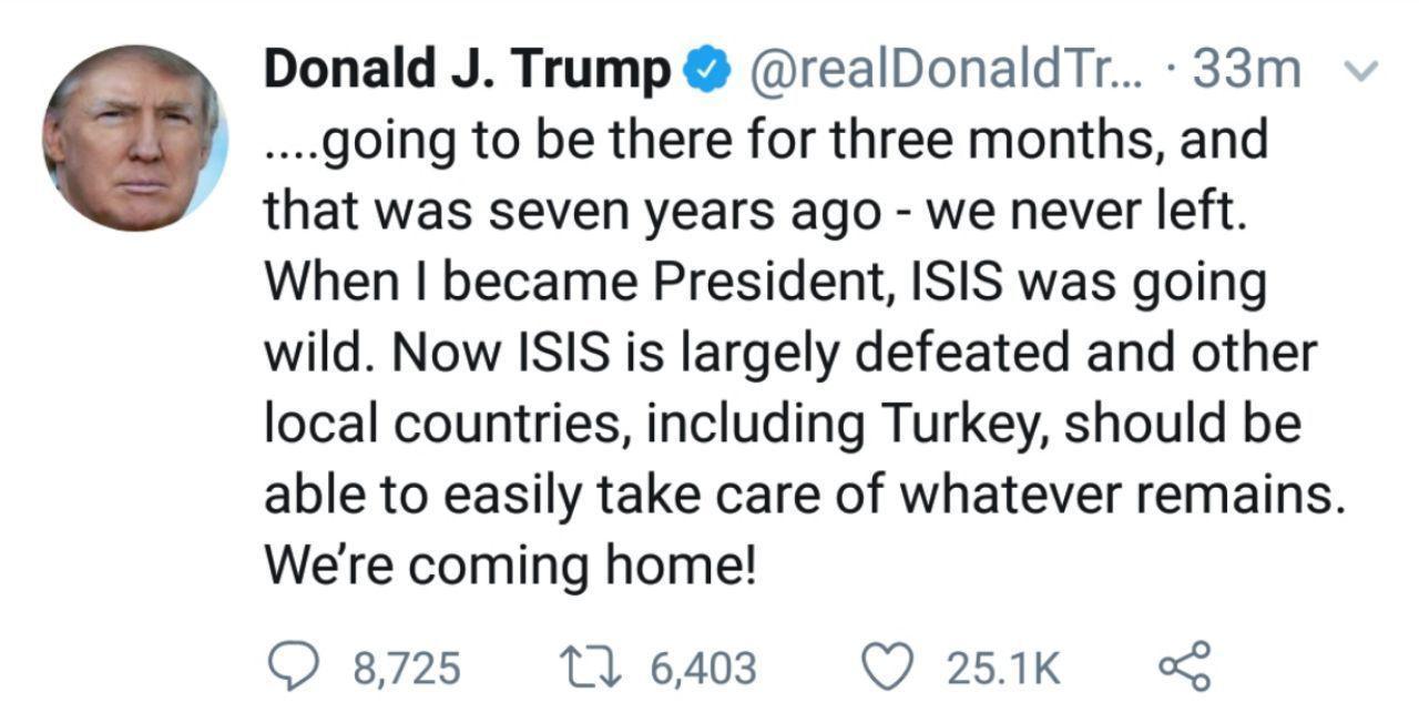 ترامپ مبارزه با داعش را به ترکیه سپرد +عکس - 7