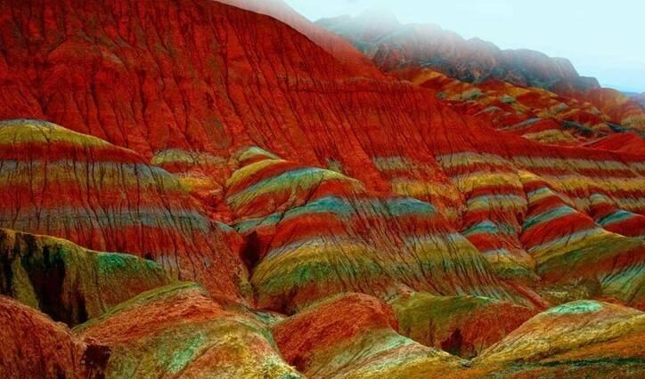 معجزه زیبای طبیعت در کوههای زنجان +تصاویر - 5