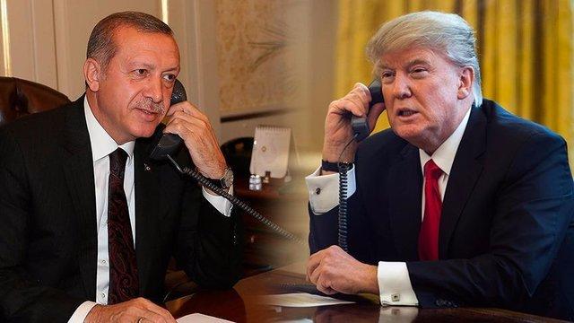 دعوت اردوغان از ترامپ برای سفر به ترکیه در ۲۰۱۹ - 0