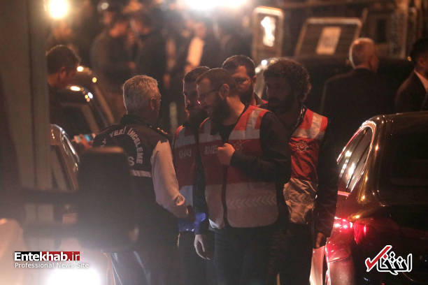 عکس/ تفتیش کنسولگری عربستان در استانبول توسط پلیس ترکیه - 12