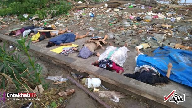 عکس/ زلزله و سونامی مرگبار در اندونزی - 6