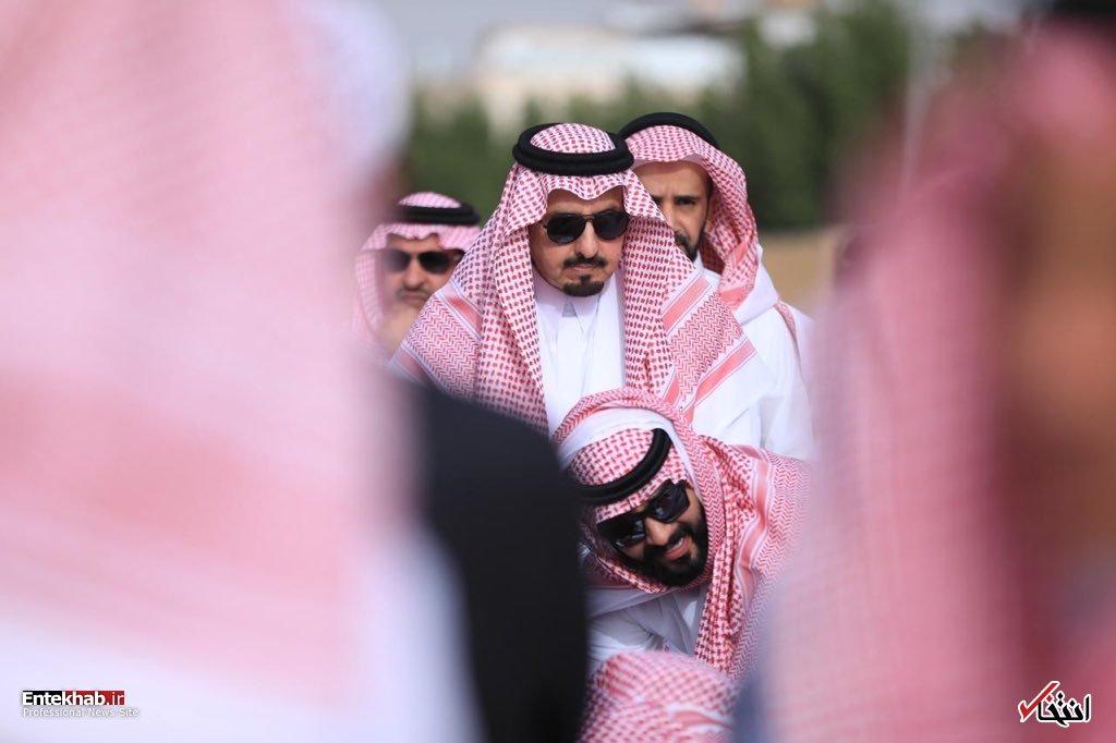 عکس/ تشییع پیکر شاهزاده خانم عربستانی - 10