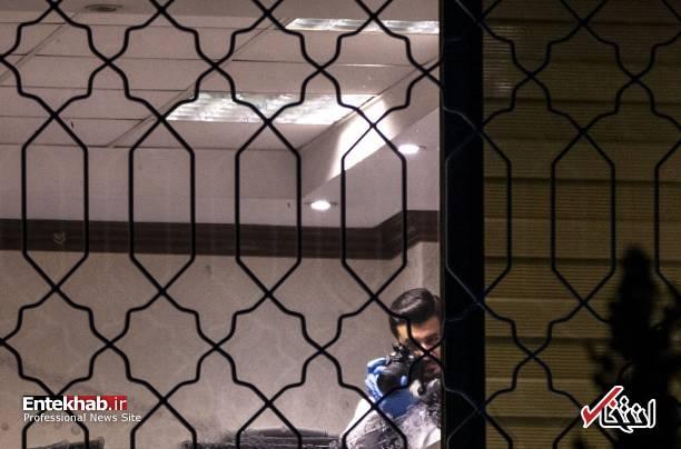 عکس/ تفتیش کنسولگری عربستان در استانبول توسط پلیس ترکیه - 10