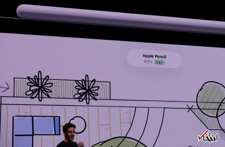 شرکت اپل از «اپل پنسل» 2018 رونمایی کرد / همگام با آیپد پرو جدید - 7