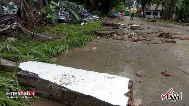 تصاویر : سونامی مرگبار در اندونزی - 9