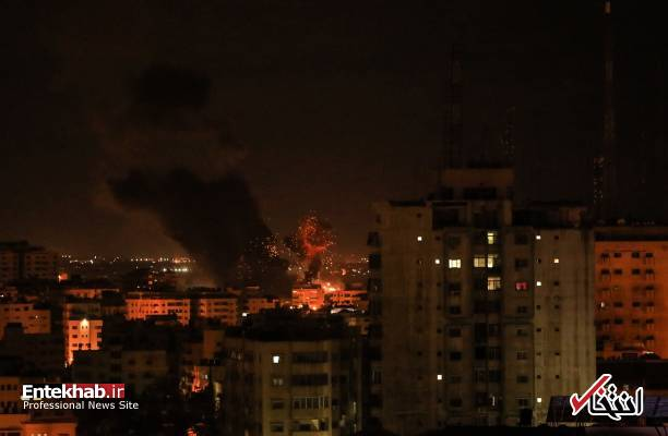 عکس/ حمله جنگندههای اسرائیل به نوار غزه - 0
