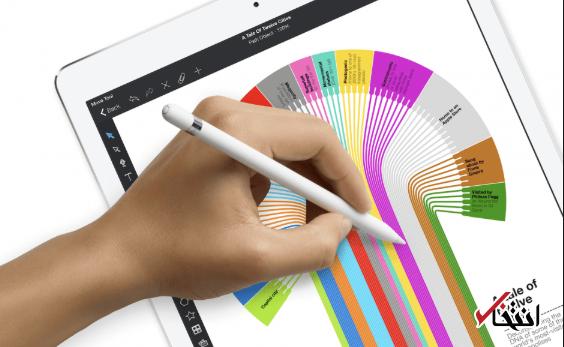 شرکت اپل از «اپل پنسل» 2018 رونمایی کرد / همگام با آیپد پرو جدید - 10
