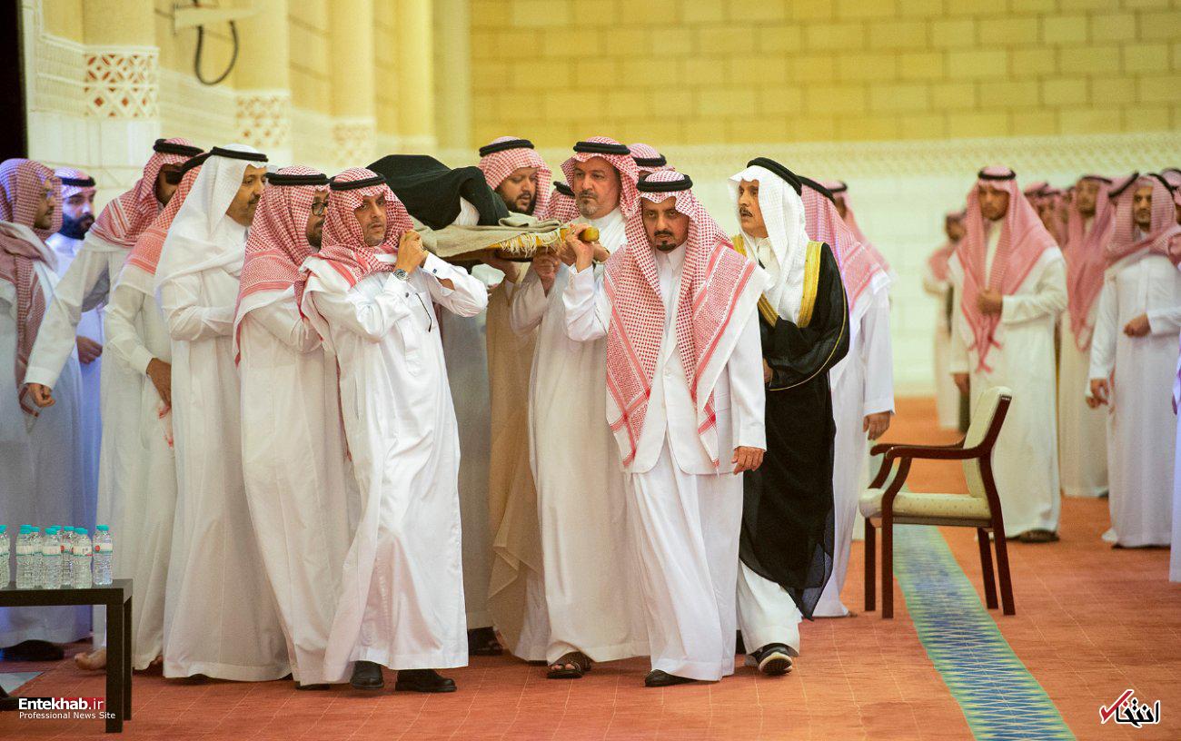 عکس/ تشییع پیکر شاهزاده خانم عربستانی - 2
