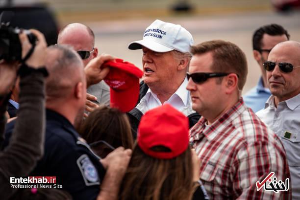 عکس/ ترامپ در تگزاس - 2