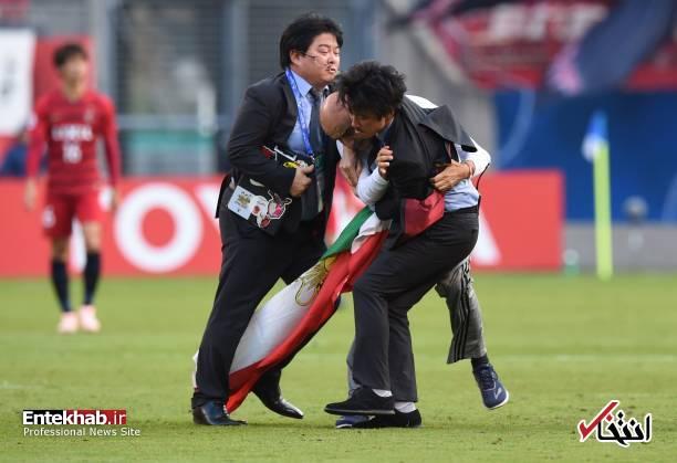 عکس/ برخورد با جیمی جامپ ایرانی در بازی کاشیما و پرسپولیس - 7