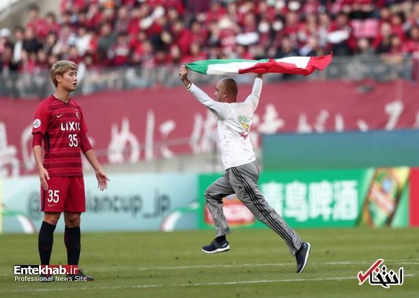 عکس/ برخورد با جیمی جامپ ایرانی در بازی کاشیما و پرسپولیس - 0