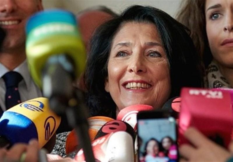 سالومه زورابیشویلی با ۶۰ درصد آرا در انتخابات گرجستان پیروز شد - 0