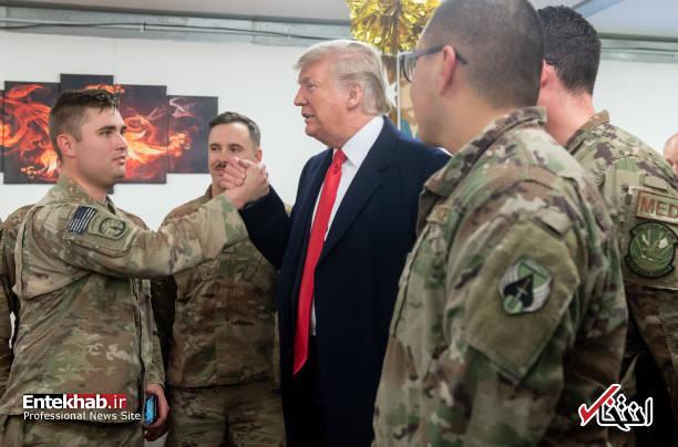 تصاویر: حاشیههایی از سفر ترامپ و همسرش به عراق - 6