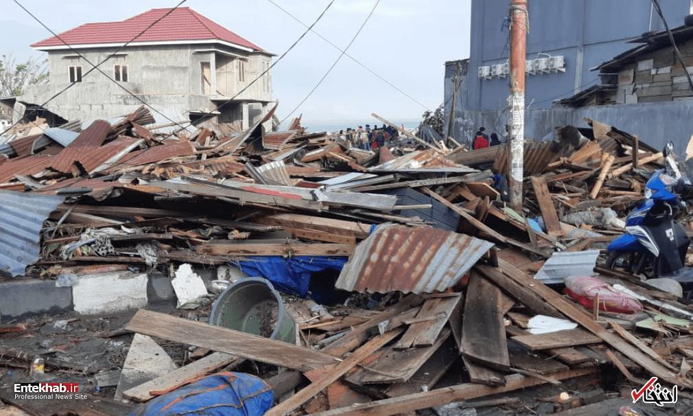 عکس/ زلزله و سونامی مرگبار در اندونزی - 3