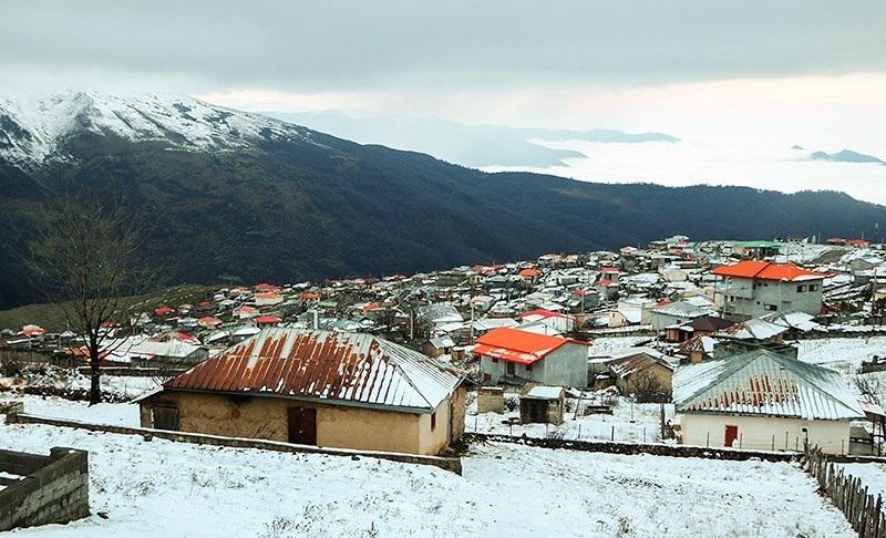 """آخرین وضعیت جوی کشور/ """"بارش برف"""" مناطق غربی کشور را سفیدپوش میکند - 0"""