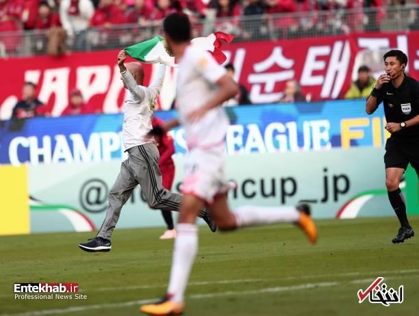 عکس/ برخورد با جیمی جامپ ایرانی در بازی کاشیما و پرسپولیس - 2