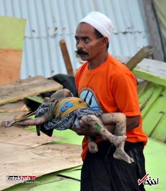 عکس/ زلزله و سونامی مرگبار در اندونزی - 7