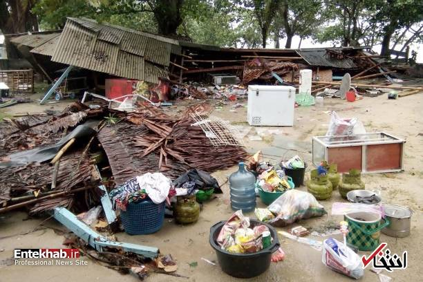 تصاویر : سونامی مرگبار در اندونزی - 12