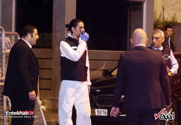 عکس/ تفتیش کنسولگری عربستان در استانبول توسط پلیس ترکیه - 6