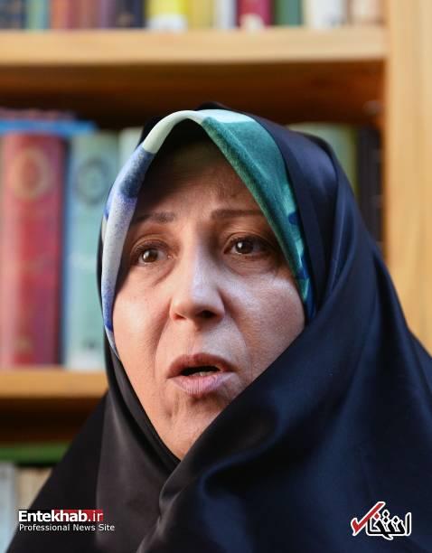عکس/ مصاحبه فاطمه هاشمی با رسانه خارجی - 2
