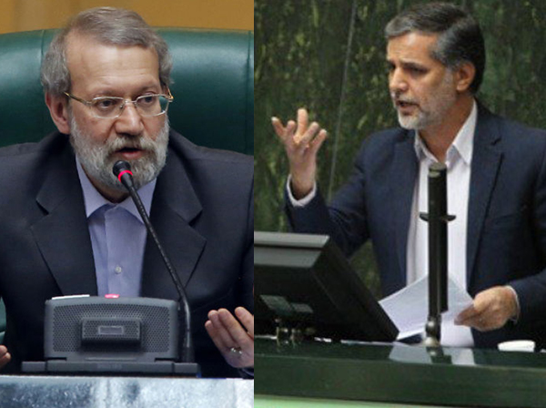 نقویحسینی به لاریجانی: شما در دوره بعدی مجلس استراحت میکنید / واکنش لاریجانی: شما هم نفس راحتی میکشید - 0