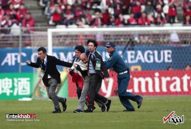 عکس/ برخورد با جیمی جامپ ایرانی در بازی کاشیما و پرسپولیس - 4